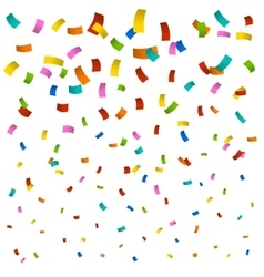 New confetti background vector