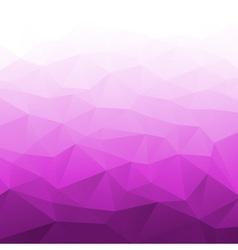 Abstract gradient purple geometric background vector