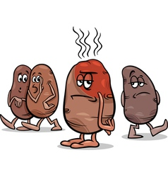 Hot potato saying cartoon vector