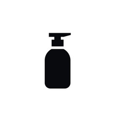 isolated spray bottle icon liquid soap vector image