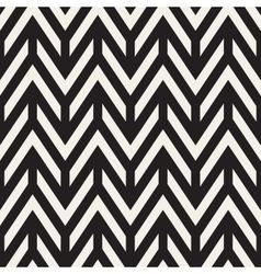 Seamless chevron zigzag horizontal lines vector