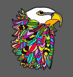 eagle freedom vector image
