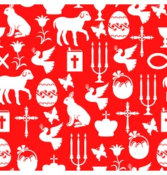 easter cet red vector image vector image