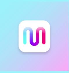 app icon ui design element vector image