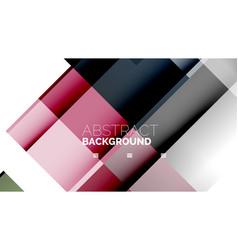 Business presentation geometric template vector