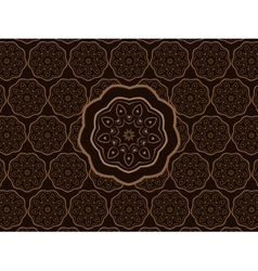 Oriental Ornament Pattern vector image