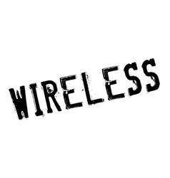 Wireless rubber stamp vector