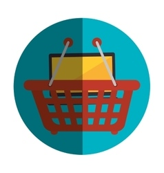 Shopping online design vector