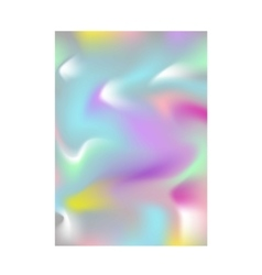 Abstract blur color layout design vector