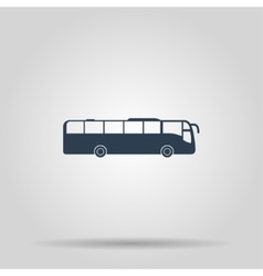 Bus Icon concept for design vector image vector image