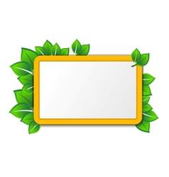eco tablet vector image vector image