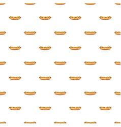 Hotdog pattern vector