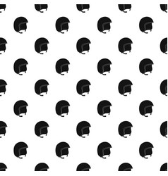 Safety helmet pattern vector