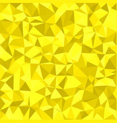 Yellow irregular triangle tile mosaic background vector