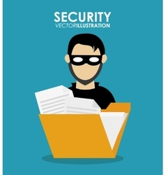 Security system and protection design vector