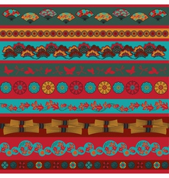 Ethnic japan elements vector