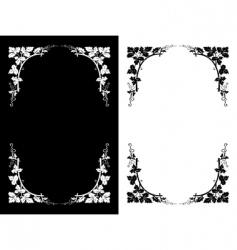 floral design backgrounds vector image
