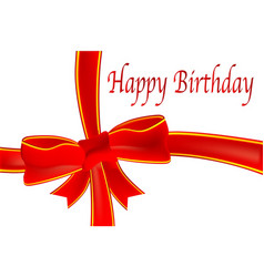 Merry birthday tag vector