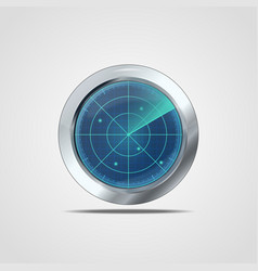 Radar icon vector image vector image
