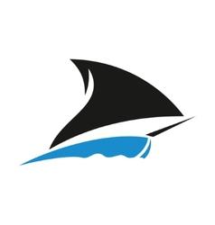 Ship sign vector