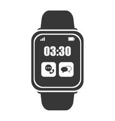 Smart watch icon vector