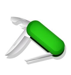 Multipurpose knife vector image