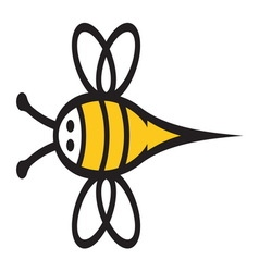 Bee icon2 resize vector