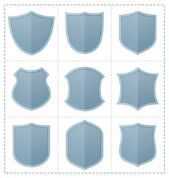Shield icon vector