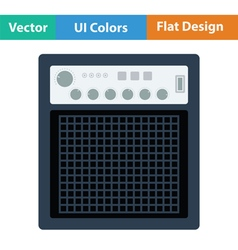 Audio monitor icon vector image
