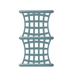 fishing net isolated vector image