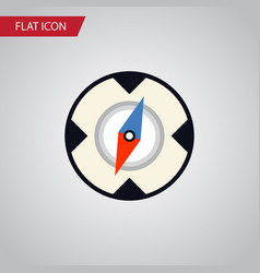 Isolated direction flat icon magnet navigator vector