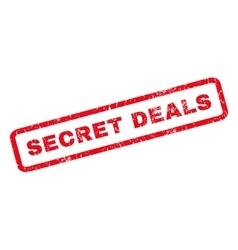 Secret deals rubber stamp vector