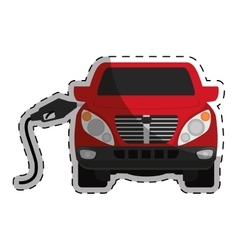 Gasoline or oil industry related icons image vector