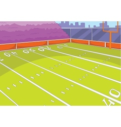 American Football Stadium vector image