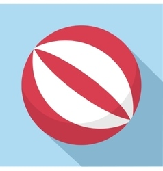 Ball icon flat style vector