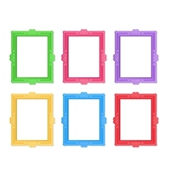 Photo frames concept vector image vector image