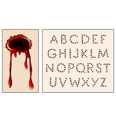 Wound alphabet vector