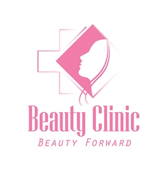 Beauty clinic logo vector