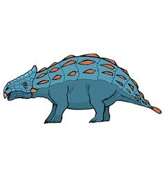 ankylosaurus vector image vector image