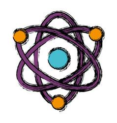 Atom icon image vector