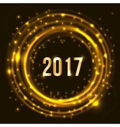 Happy New Year 2017 celebration vector image