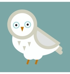 Owl bird cartoon vector image vector image