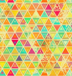 Triangular vintage grange seamless vector
