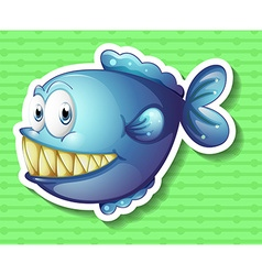 Sticker vector image