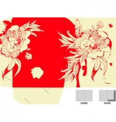 colorful template for folder design vector image vector image