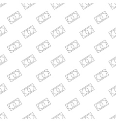 Dollar pattern seamless vector