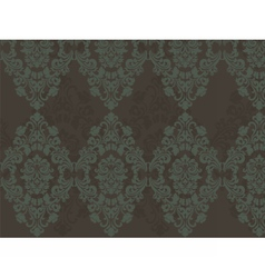 Floral ornament pattern with flowers vector