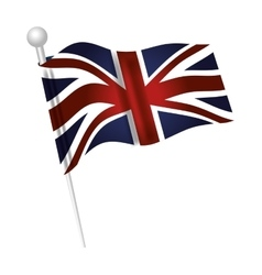 london city flag vector image