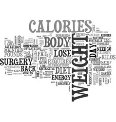 After a diet why does the weight come back text vector