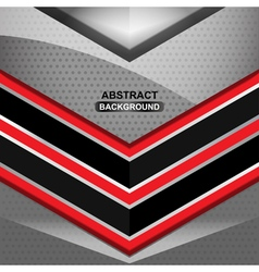 geometric black background design vector image vector image